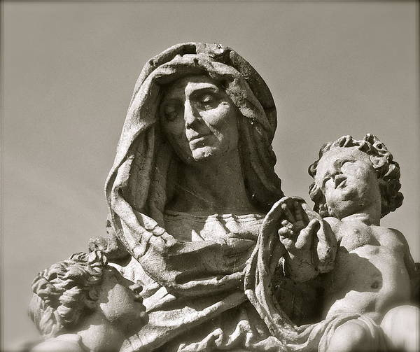 Photograph - St Anne Detail by Kim Pippinger