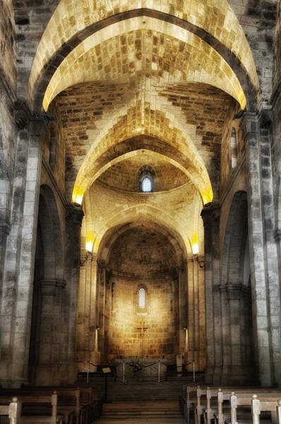 Photograph - St. Anne's Church Jerusalem by Mark Fuller
