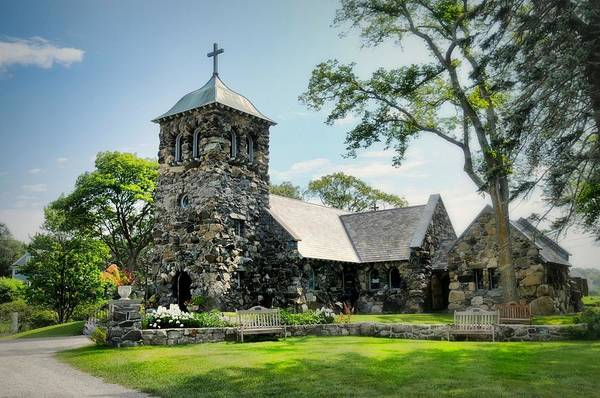 Wall Art - Photograph - St. Ann's Episcopal Church by Diana Angstadt