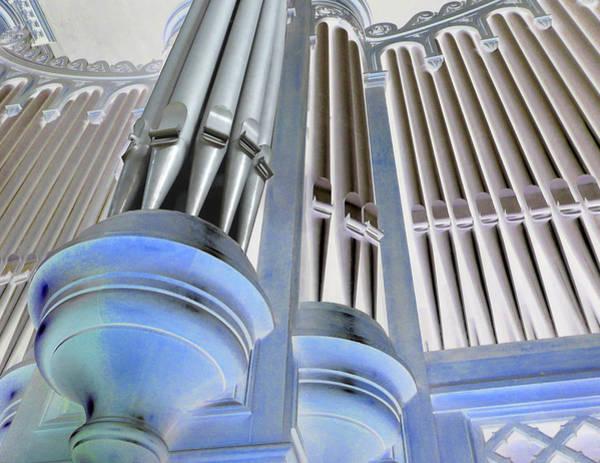 St Augustine Fantasy Organ Art Print