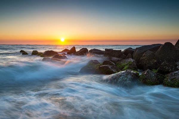 Fl Photograph - St. Augustine Fl Beach Sunrise - The Morning After by Dave Allen