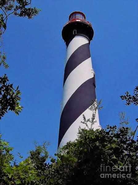 Wall Art - Photograph - St Augustine Lighthouse by D Hackett
