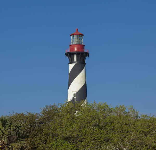 Photograph - St Augustine Lighthouse by Sean Allen