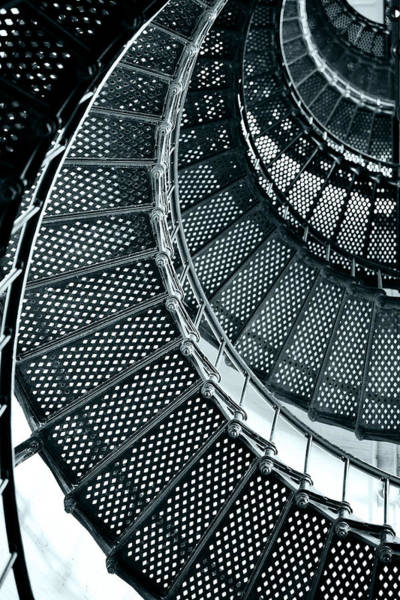 Wall Art - Photograph - St Augustine Lighthouse Staircase by Christine Till