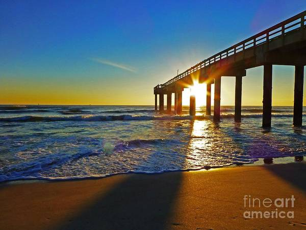 Saint Augustine Beach Wall Art - Photograph - St. Augustine Pier by Phil King