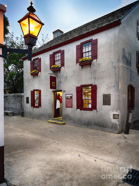 Wall Art - Photograph - St Augustine Street Corner by George Oze