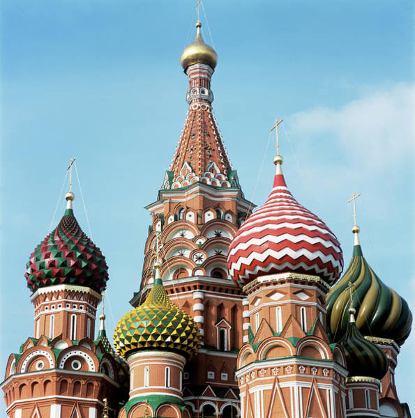 Wall Art - Photograph - St Basil's Cathedral by Mark Thomas/science Photo Library