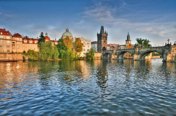Photograph - St Charles Bridge Prague by John Magyar Photography