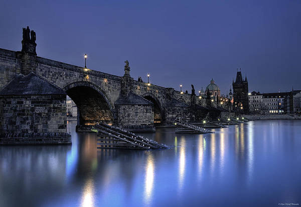 Photograph - St Charles Bridge by Ryan Wyckoff