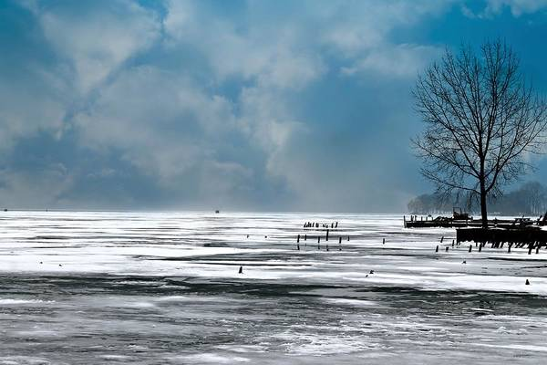 Photograph - St. Clair River by Rebecca Frank