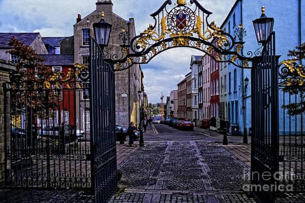 Wall Art - Photograph - St Columbs Gate Londonderry by Thomas R Fletcher