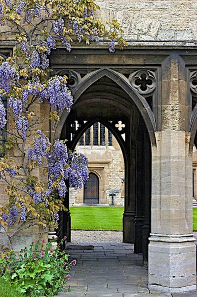 Photograph - St. Cross Arches by Joseph Yarbrough