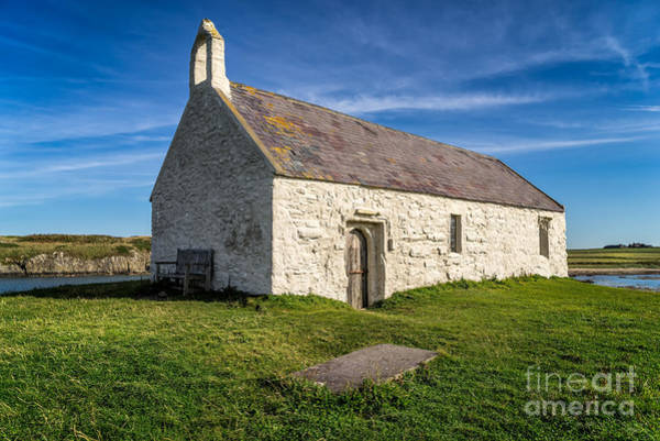 Wall Art - Photograph - St Cwyfan Church by Adrian Evans