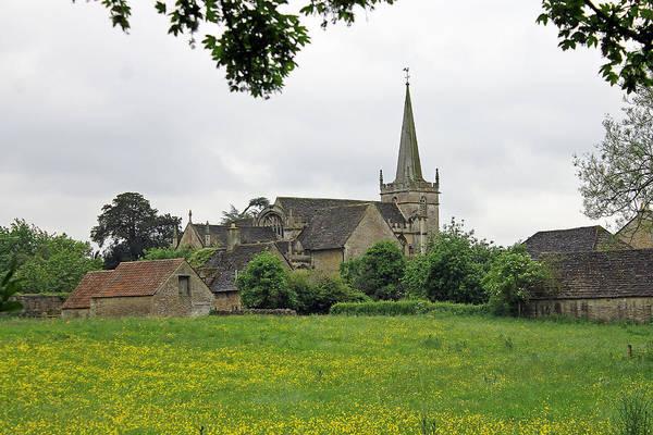 Photograph - St Cyriac's Church Lacock by Tony Murtagh