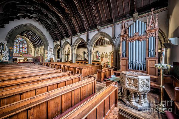 Wooden Church Wall Art - Photograph - St David Church by Adrian Evans
