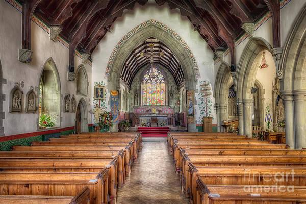 Gothic Arch Photograph - St Davids Church by Adrian Evans