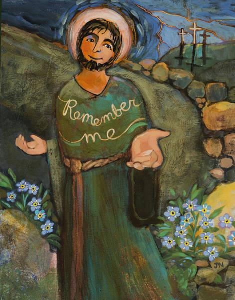Redemption Painting - St. Dismas by Jen Norton