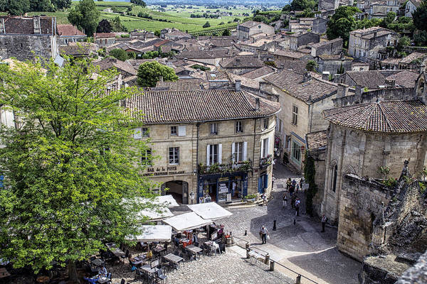 Photograph - St Emilion - French Wine Town by Georgia Fowler
