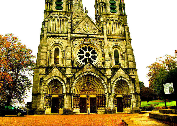 Photograph - St Fin Barre's Cathedral by HweeYen Ong