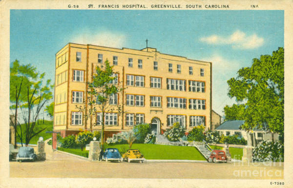 Photograph - St. Francis Hospital by Dale Powell