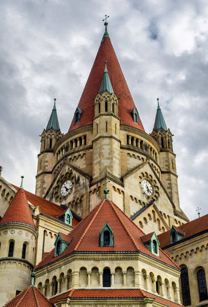 St. Francis Of Assisi Church In Vienna Art Print
