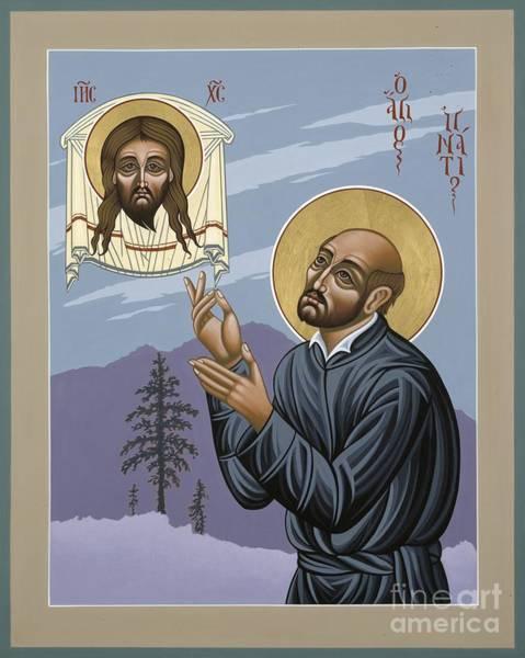 Painting - St. Ignatius Amidst Alaska 141 by William Hart McNichols