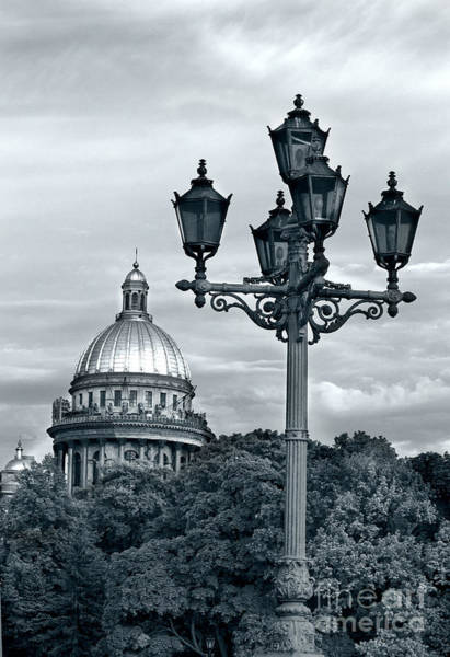 Photograph - St Isaac Cathedral by Elena Nosyreva
