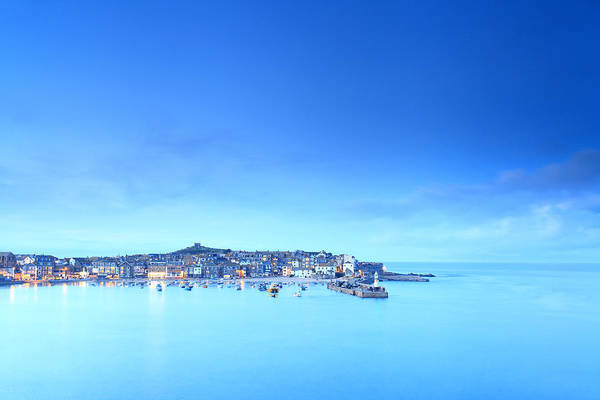 Ives Photograph - St Ives Harbour by Ollie Taylor