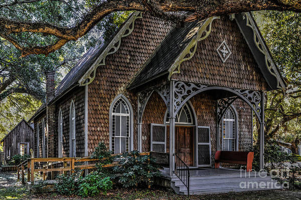 Photograph - St. James Episcopal Church In Mccellanville Sc by Dale Powell
