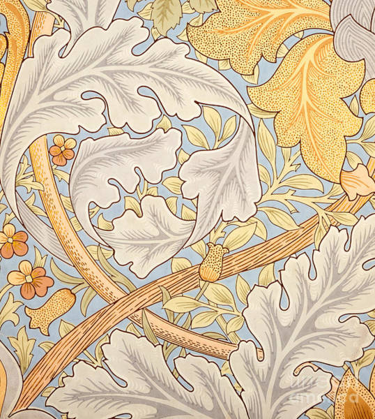 Wall Art - Painting - St James Wallpaper Design by William Morris