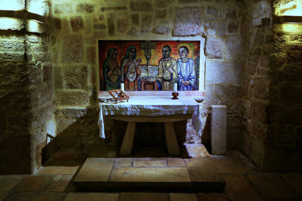 Bethlehem Photograph - St. Jerome Chapel by Stephen Stookey