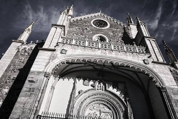 Photograph - St Jerome Royal Church Madrid by Joan Carroll