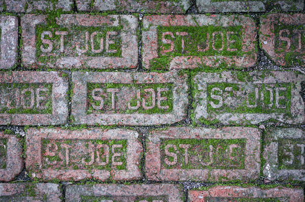 Photograph - St. Joe Bricks by Andy Crawford