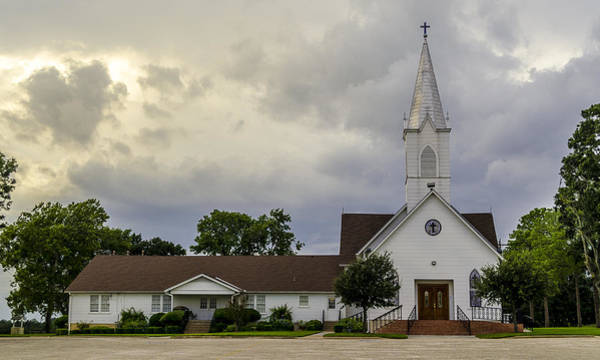 Photograph - St John Lutheran Church Of Prairie Hill by David Morefield