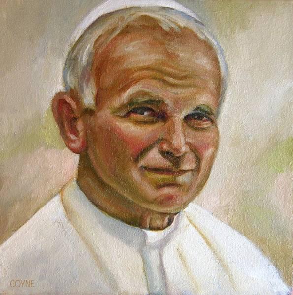 Benny Painting - St. John Paul II by Brian Coyne
