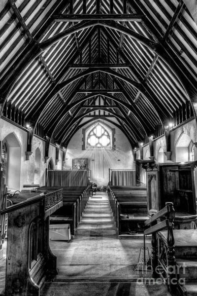 Gothic Arch Photograph - St John Ysbyty Ifan by Adrian Evans