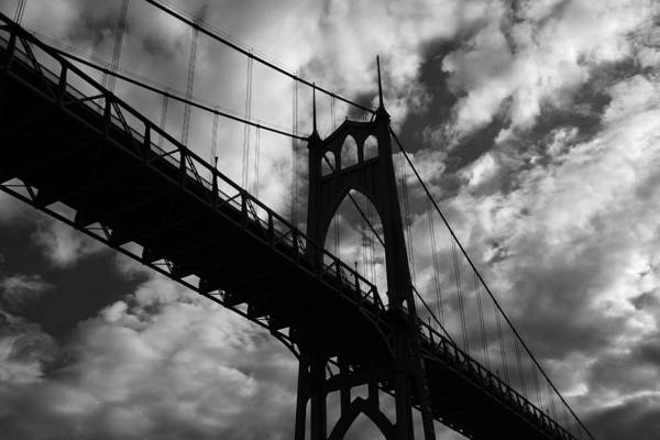 Photograph - St Johns Bridge by Wes and Dotty Weber