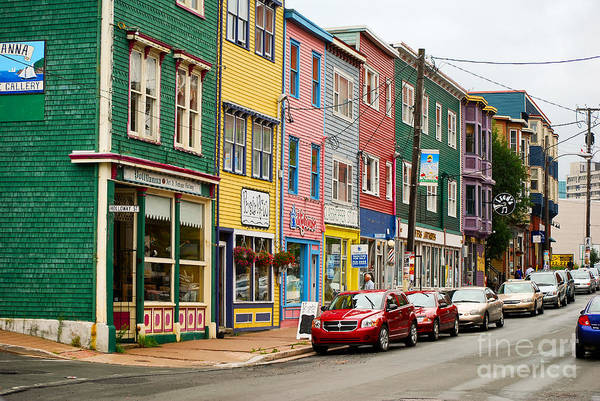 Photograph - St. John's  Newfoundland by Les Palenik