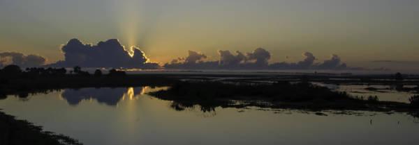 Blye Photograph - St. Johns River Sunrise by Kenneth Blye