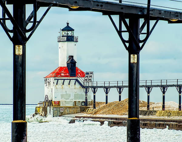 Photograph - Michigan City East Pierhead by Nick Zelinsky