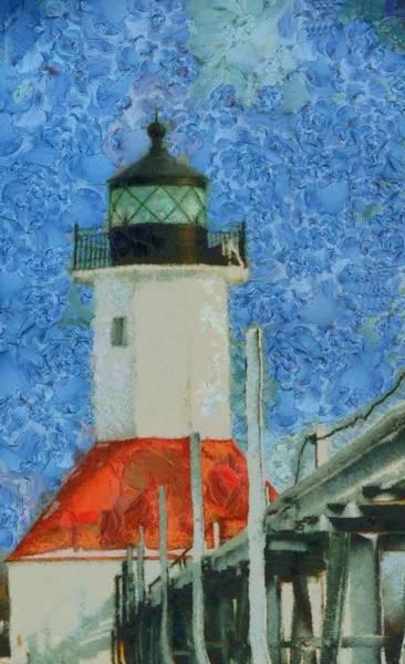 Painting - St. Joseph Lighthouse Lake Michigan by Dan Sproul