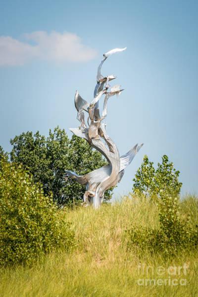 Sea Hunt Photograph - St. Joseph Michigan And You Seas Metal Sculpture by Paul Velgos