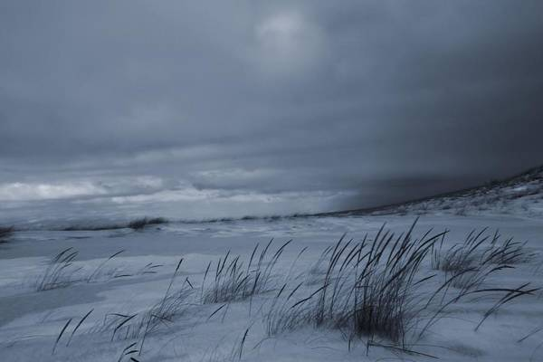 Photograph - St Joseph Michigan Beach In Winter by Dan Sproul