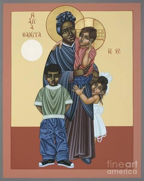 Painting - St. Josephine Bakhita Universal Sister 095 by William Hart McNichols