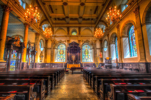 Photograph - St. Lawrence Jewry by Ross Henton