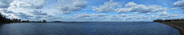 Photograph - St Lawrence River Panoramic by Maggy Marsh