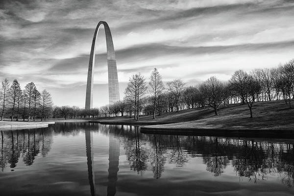 Arch Wall Art - Photograph - St Louis Arch by Errick Cameron