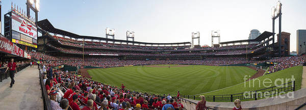 Photograph - St. Louis Cardinals Pano 4 by David Haskett II