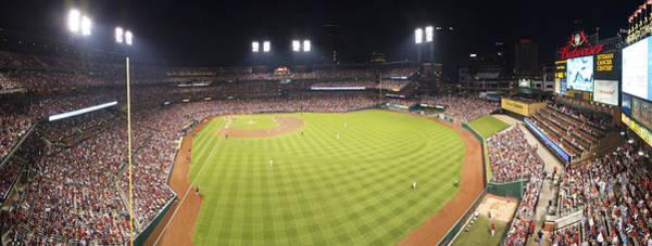 Photograph - St. Louis Cardinals Pano 7 by David Haskett II