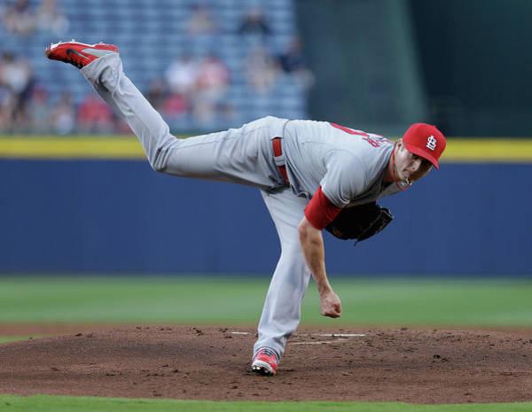Turner Field Photograph - St Louis Cardinals V Atlanta Braves by Mike Zarrilli